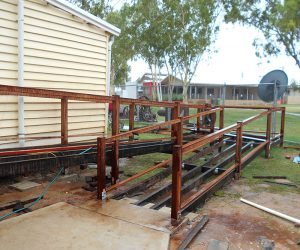 Burketown Visitor Centre renovation