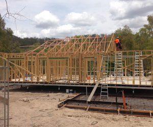 Coen Ranger Station building project